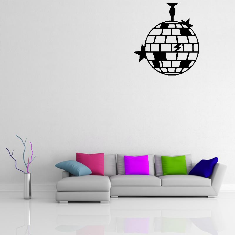 Samolepky na zeď - Samolepka na zeď - Disko koule
