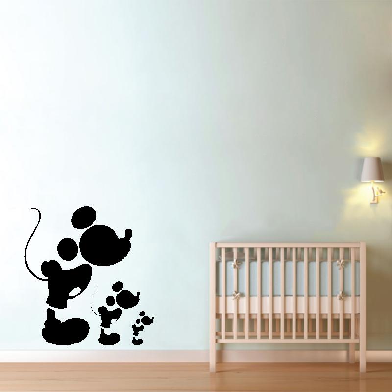 Samolepky na zeď - Samolepka na zeď - Mickey mouse