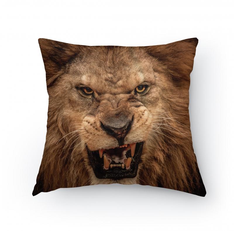 Polštářky - Polštářek - Zuřivý lev