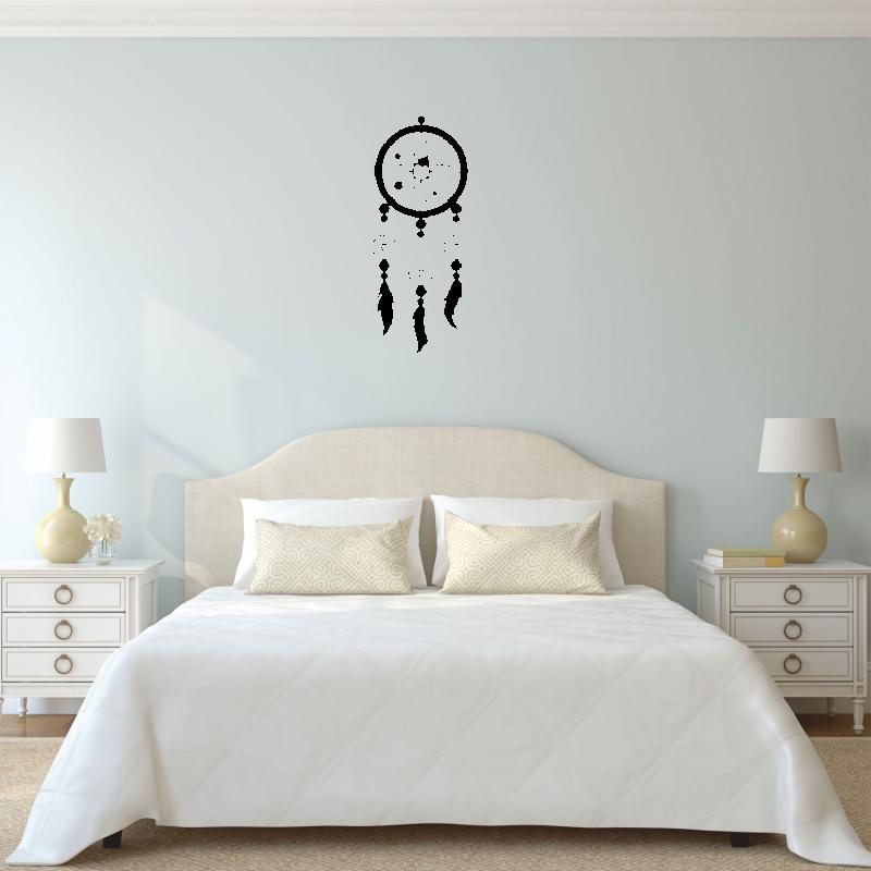 Samolepky na zeď - Samolepka na zeď - Lapač snů