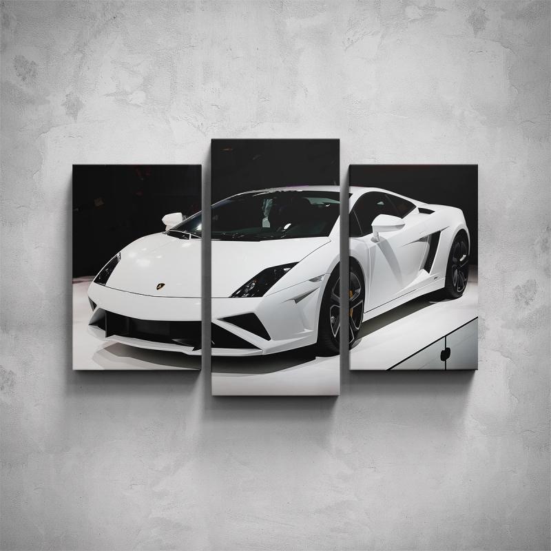 Obrazy - 3-dílný obraz - Lamborghini