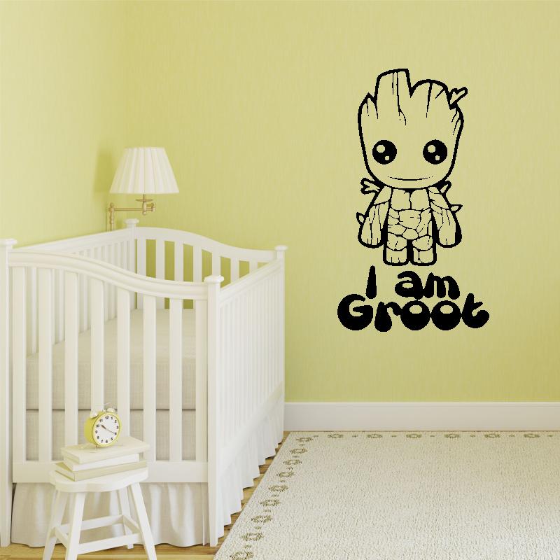 Samolepky na zeď - Samolepka na zeď - I am Groot