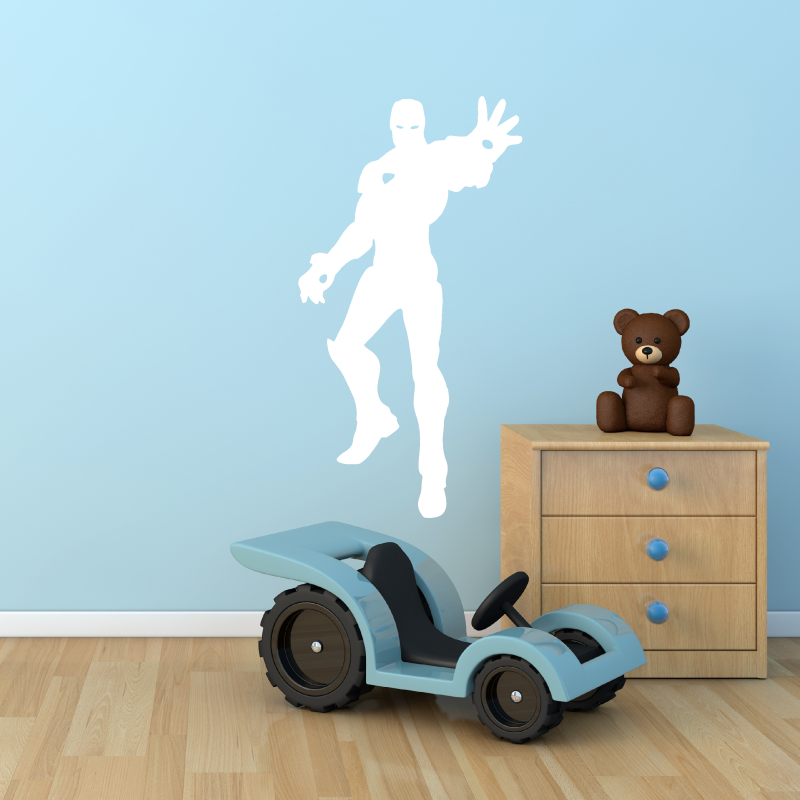 Samolepky na zeď - Samolepka na zeď - Létající Iron Man