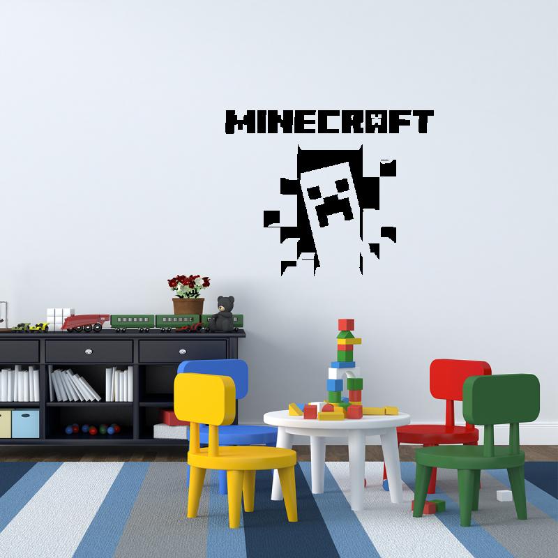 Samolepky na zeď - Samolepka na zeď - Minecraft strašidlo