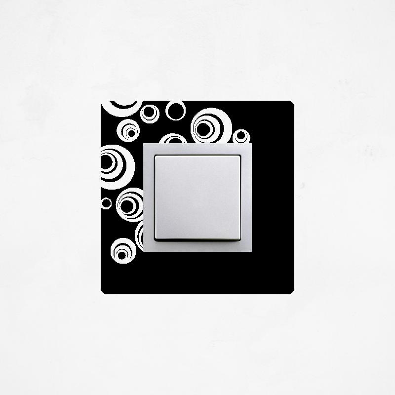 Samolepky na vypínač - Samolepka na vypínač - Bubliny