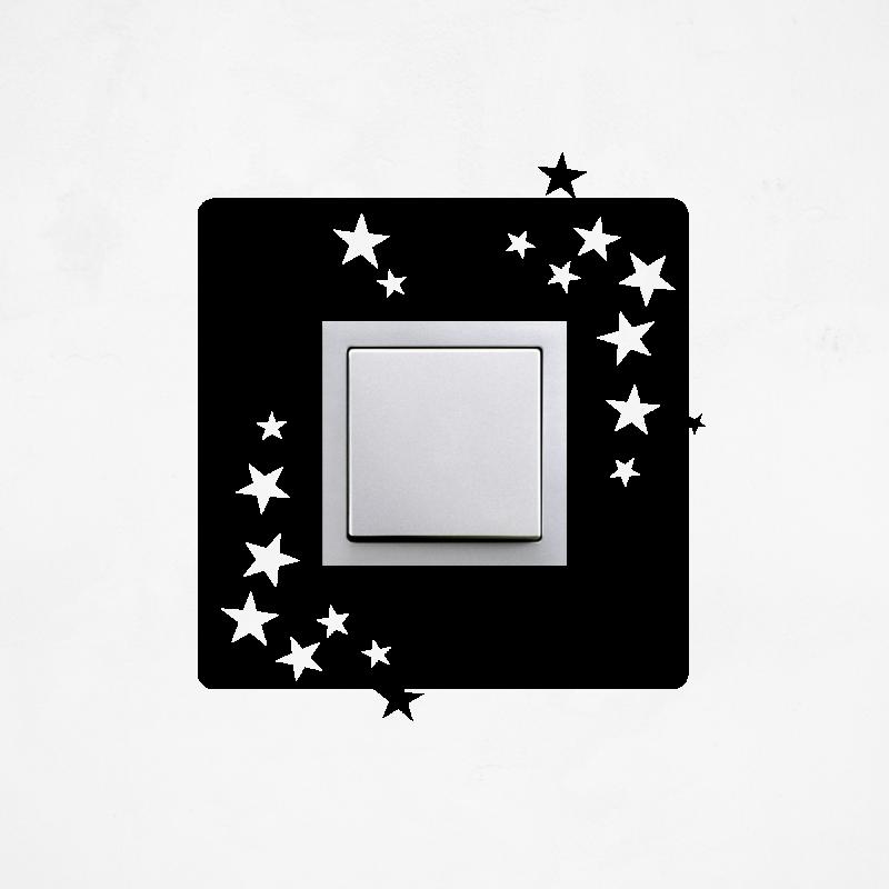 Samolepky na vypínač - Samolepka na vypínač - Hvězdy