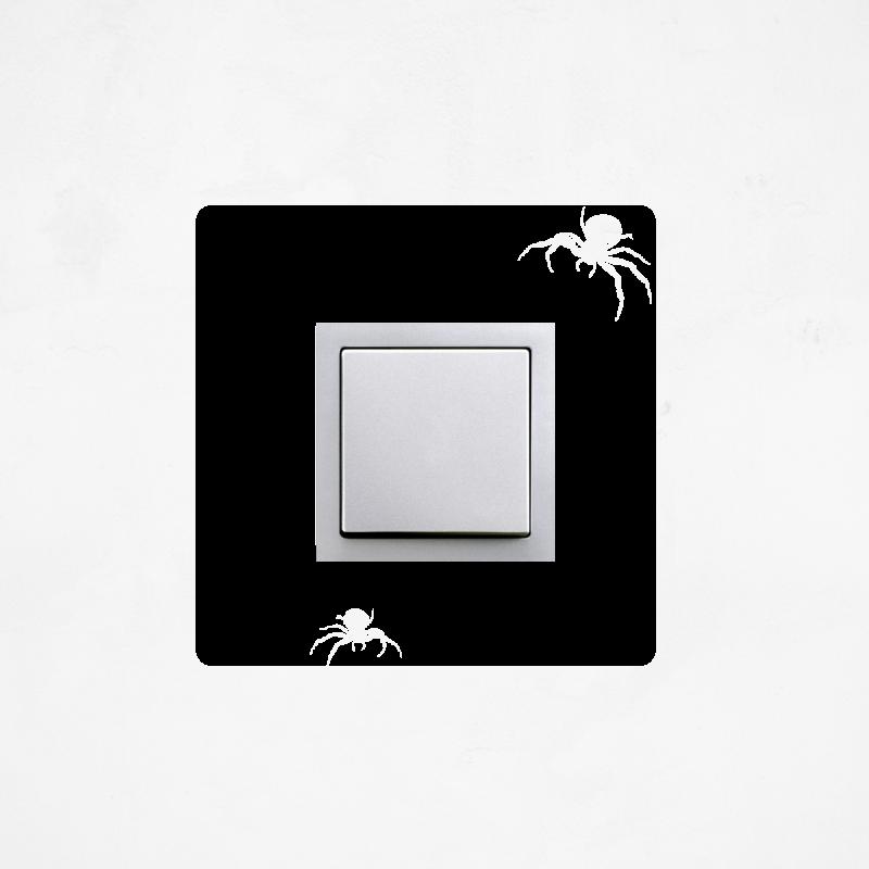 Samolepky na vypínač - Samolepka na vypínač - Pavouk