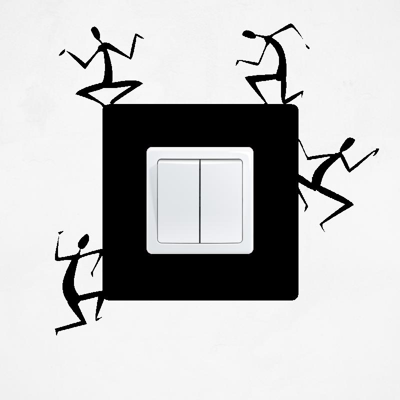 Samolepky na vypínač - Samolepka na vypínač - Postavy