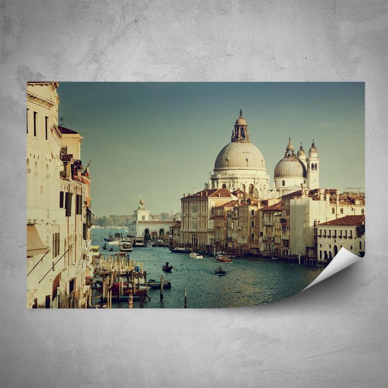 Plakáty - Plakát - Atmosféra Benátek