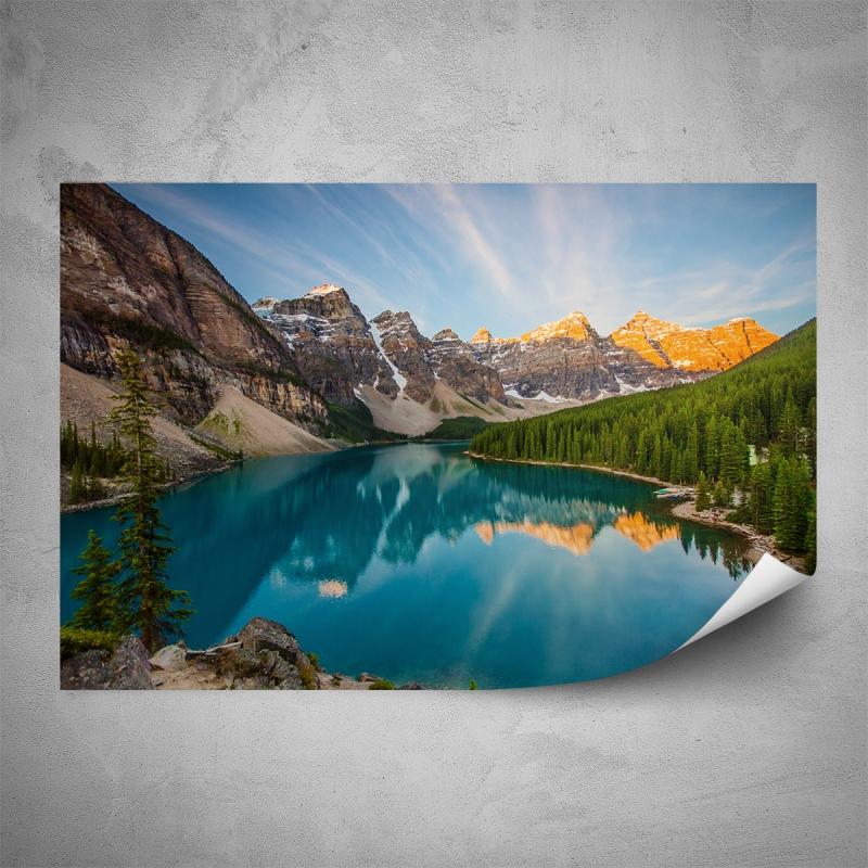 Plakáty - Plakát - Horské jezero