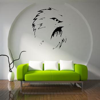 Samolepka na zeď - Hlava orla