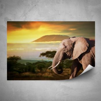 Plakát - Kilimandžáro