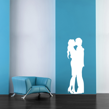 Samolepka na zeď - Zamilovaný pár