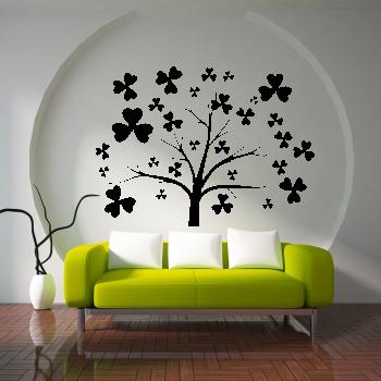 Samolepka na zeď - Strom štěstí