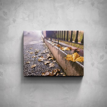 Obraz - Podzim chodník