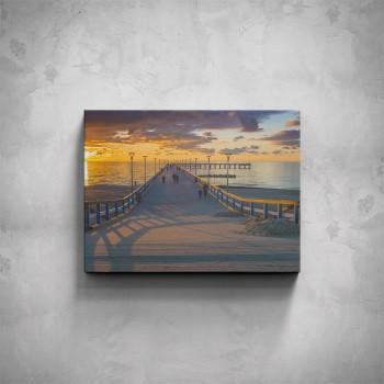 Obraz - Molo při západu slunce
