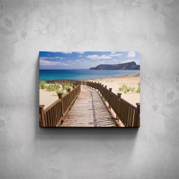 Obraz - Cesta k pláži