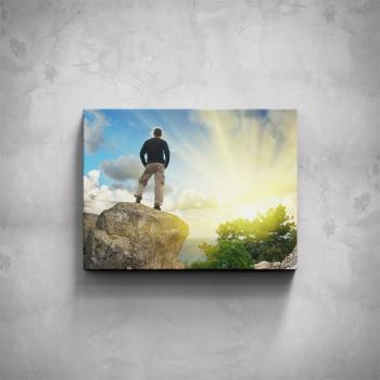 Obraz - Zdolání vrcholu