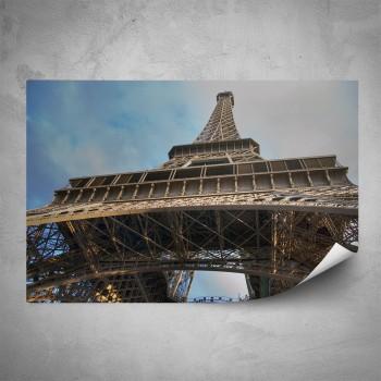 Plakát - Eiffelovka detail