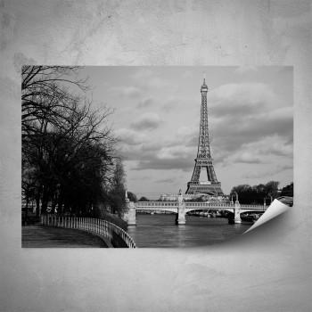 Plakát - Stylová Eiffelovka