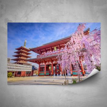 Plakát - Čínský chrám