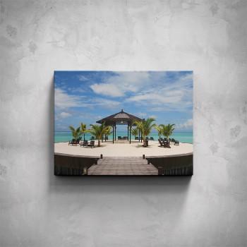 Obraz - Pobřežní altán