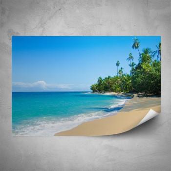 Plakát - Pláž Kanárské ostrovy