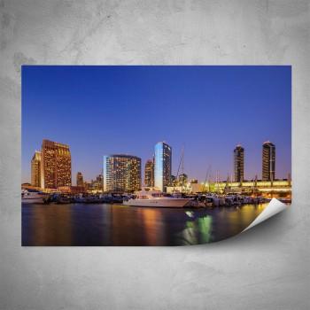 Plakát - Noční přístav