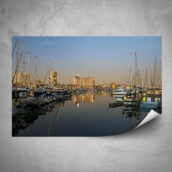 Plakát - Pohled z přístavu