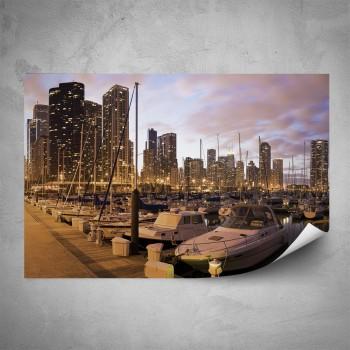 Plakát - Moderní městský přístav