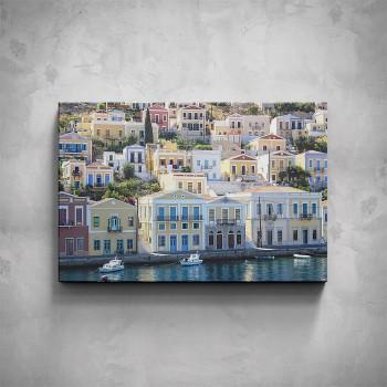 Obraz - Město u moře