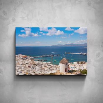 Obraz - Řecké město