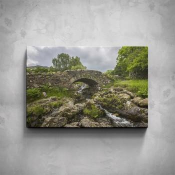 Obraz - Kamenný mostek