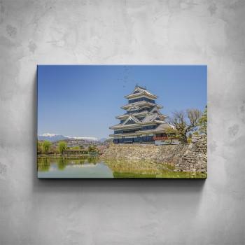 Obraz - Čínská stavba