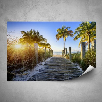 Plakát - Cesta na pláž