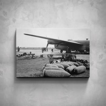 Obraz - Vojenský bombardér