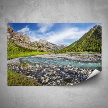 Plakát - Divoká řeka