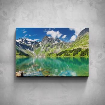 Obraz - Horské jezero