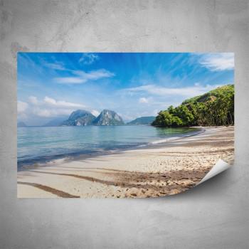 Plakát - Pláž Nový Zéland