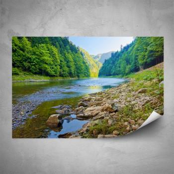Plakát - Klidná řeka