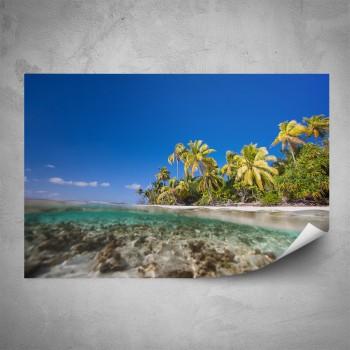Plakát - Pláž Seychely