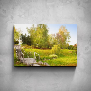 Obraz - Schůdky v parku
