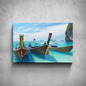 Obraz - Thajské lodě