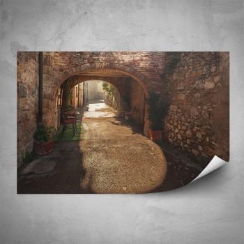 Plakát - Romantická ulička