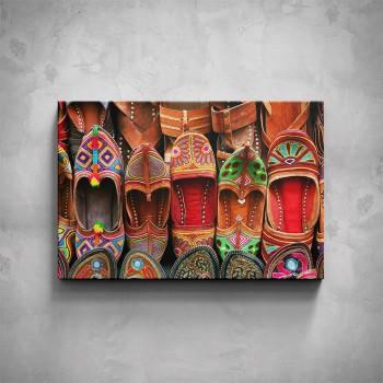Obraz - Indické papuče
