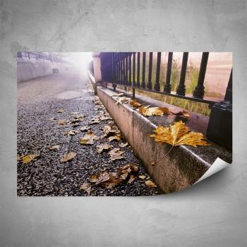 Plakát - Podzim ve městě