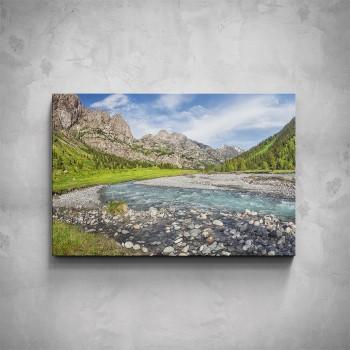 Obraz - Vyschlá řeka