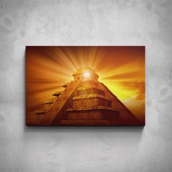 Obraz - Mayská pyramida