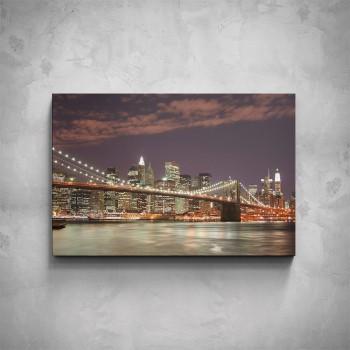 Obraz - New York most Brooklyn Bridge