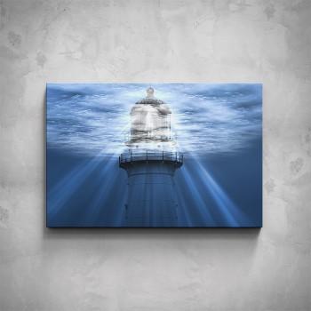 Obraz - Modrý maják